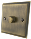 Deco Plate Antique Bronze Dimmer Switches